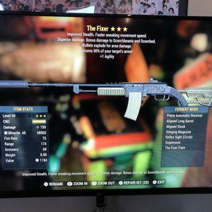 Weapon | AA E +1A Fixer