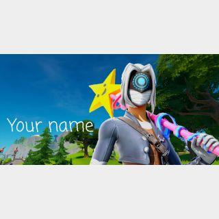 I will make your fortnite profile picture