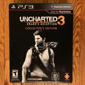 Uncharted 3 Drake's Deception Collectors Edition BNIB PS3