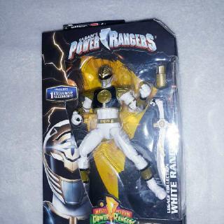 Power Rangers Legacy Collection White Ranger