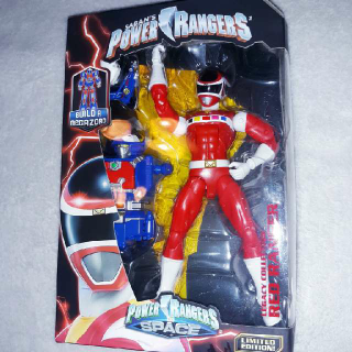 Power Rangers Legacy Collection Red Ranger Limited Edition Build A Megazord