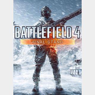 Battlefield 4: Final Stand (PC) Origin Key GLOBAL