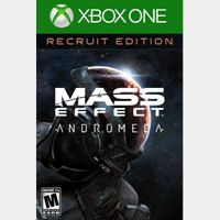 Mass Effect Andromeda (Standard Recruit Edition) (Xbox One) Xbox Live Key UNITED STATES