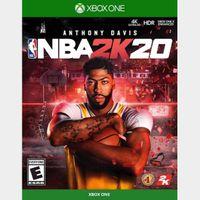 NBA 2K20 Standard Edition  Xbox One Key GLOBAL