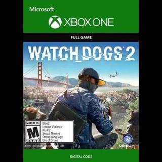Watch Dogs 2 (Xbox One) Xbox Live Key GLOBAL