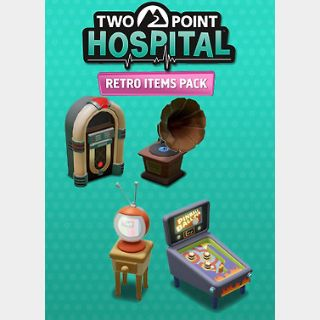 Two Point Hospital: Retro Items Pack (PC) Steam Key GLOBAL