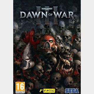 Warhammer 40.000: Dawn of War III (PC) Steam Key GLOBAL