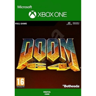 DOOM 64 Standard (Xbox One) Xbox Live Key GLOBAL
