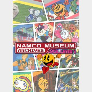 Namco Museum Archives Vol. 1 (PC) Steam Key GLOBAL