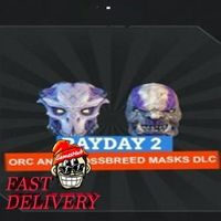 PAYDAY 2: Orc and Crossbreed Masks Key Steam GLOBAL