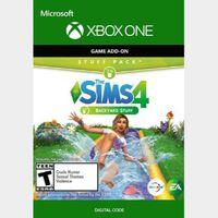 The Sims 4: Backyard Stuff (DLC) (Xbox One) Xbox Live Key UNITED STATES