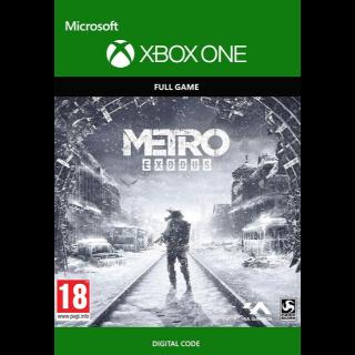 Metro Exodus (Xbox One) Xbox Live Key GLOBAL