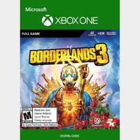 Borderlands 3 (Xbox One) Xbox Live Key GLOBAL