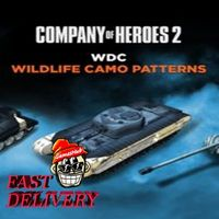 Company of Heroes 2 - Whale and Dolphin Conservation Charity Pattern Pack Steam Key GLOBAL