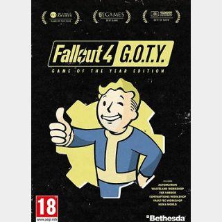 Fallout 4 GOTY Edition (PC) Steam Key GLOBAL