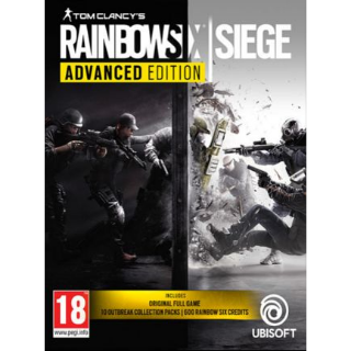 Tom Clancy's Rainbow Six Siege - Advanced Edition Uplay Key EUROPE