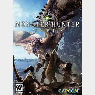 Monster Hunter: World (PC) Steam Key GLOBAL