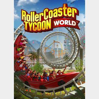 RollerCoaster Tycoon World (PC) Steam Key GLOBAL