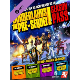 Borderlands: The Pre-Sequel Season Pass Steam Key GLOBAL