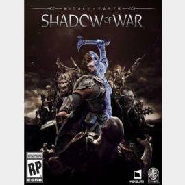 Middle-earth: Shadow of War Standard Edition Steam Key GLOBAL