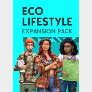 The Sims 4 Eco Lifestyle (PC) Origin Key GLOBAL