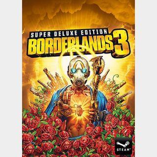 Borderlands 3 Super Deluxe Edition (PC) Steam Key GLOBAL