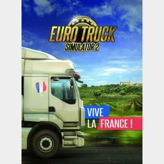 Euro Truck Simulator 2 - Vive la France! (DLC) Steam Key GLOBAL