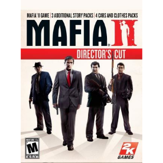 Mafia II: Director's Cut GOG.COM Key GLOBAL