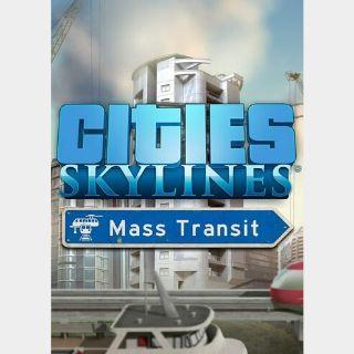 Cities: Skylines - Mass Transit (DLC) Steam Key GLOBAL