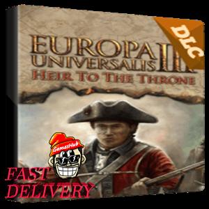 Europa Universalis III: Heir to the Throne Key Steam GLOBAL