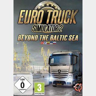 Euro Truck Simulator 2: Beyond the Baltic Sea (PC) Steam Key GLOBAL