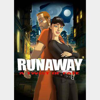 Runaway: A Twist of Fate (PC) Steam Key GLOBAL