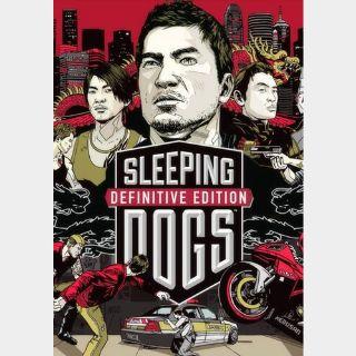 Sleeping Dogs (Definitive Edition) Steam Key GLOBAL