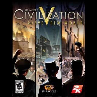 Sid Meier's Civilization V: Brave New World Key Steam GLOBAL