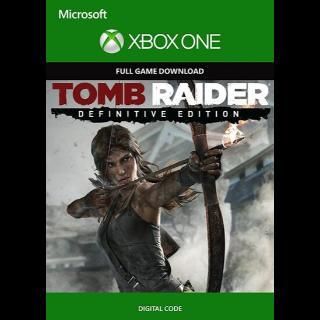 Tomb Raider: Definitive Edition (Xbox One) Xbox Live Key GLOBAL