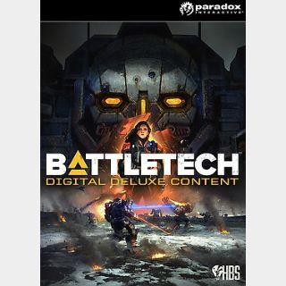 BattleTech Digital Deluxe Content (PC) Steam Key GLOBAL