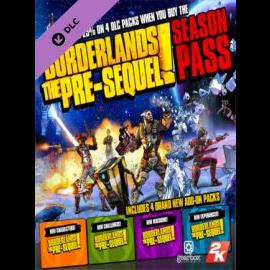 Borderlands: The Pre-Sequel Season Pass Steam Key GLOBAL
