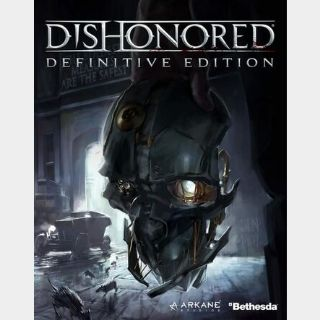 Dishonored (Definitive Edition) Steam Key GLOBAL