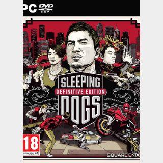 Sleeping Dogs Definitive Edition (PC) Steam Key GLOBAL