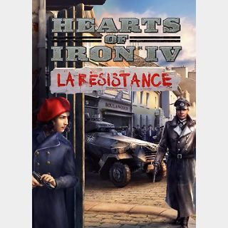 Hearts of Iron IV: La Résistance (PC) Steam Key GLOBAL