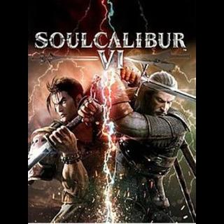 SOULCALIBUR 6 VI Steam Key GLOBAL