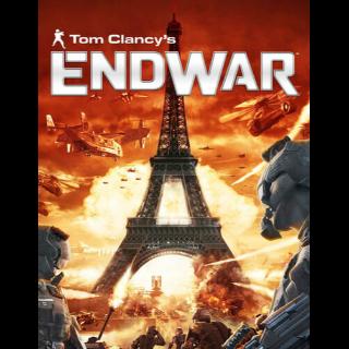 Tom Clancy's EndWar Uplay Key GLOBAL