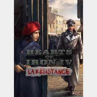 Hearts of Iron IV - La Résistance (DLC) Steam Key GLOBAL