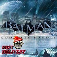 Batman Complete Bundle (7 items) Steam Key GLOBAL