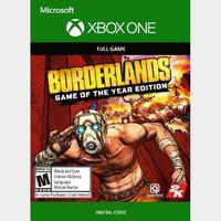 Borderlands (GOTY) (Xbox One) Xbox Live Key UNITED STATES