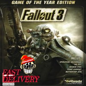 Fallout 3 - Game of the Year Edition ✅[STEAM][CD KEY][REGION:GLOBAL][DIGITAL DELIVERY FAST AND SAFE]✅