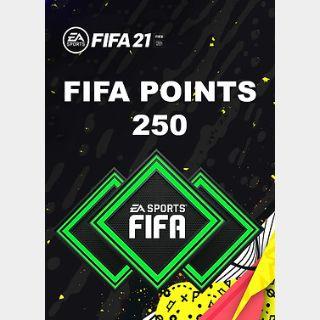 FIFA 21: 250 FUT Points (PC) Origin Key GLOBAL