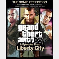 GTA IV: Complete Edition Rockstar Games Launcher Key GLOBAL