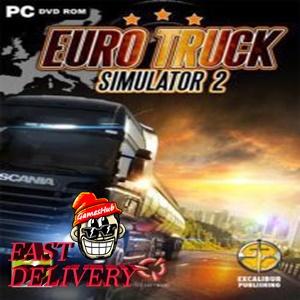 Euro Truck Simulator 2 [STEAM][REGION:GLOBAL][KEY/CODE]