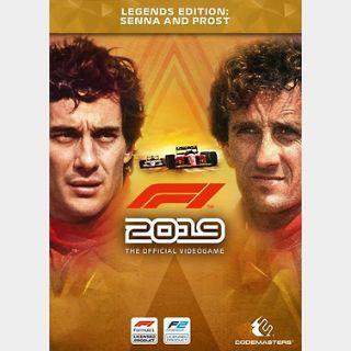F1 2019 Legends Edition (PC) Steam Key GLOBAL
